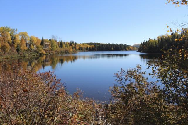 Déjà, l'Association de développement écologique de Lac-Édouard a... (Audrey Tremblay)