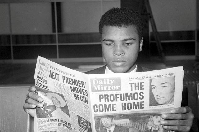 Muhammad Ali, le 19 juin 1963... (Action Images)