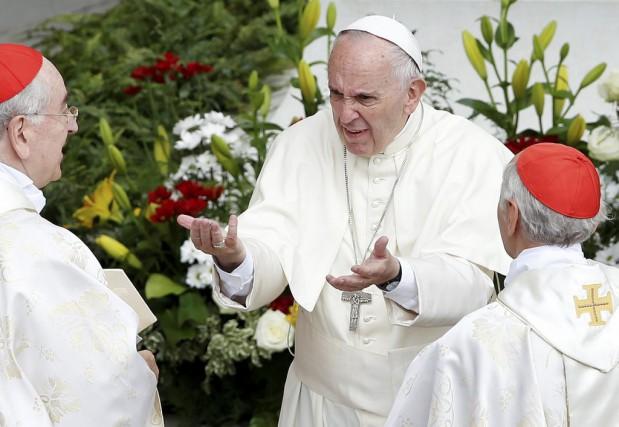 Le pape François a créé au Vatican une... (PHOTO ALESSANDRO BIANCHI, ARCHIVES REUTERS)