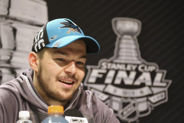 Tomas Hertl... (PHOTO CHARLES LECLAIRE, USA TODAY)