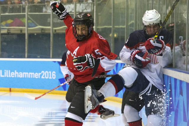 Benoît-Olivier Groulx, durant la finale des Jeux olympiques... (Archives AP)