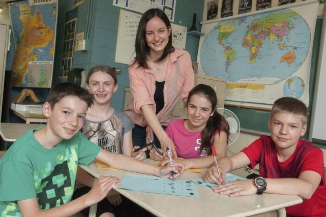L'année scolaire se termine et ces jeunes étudiants,... (Photo Le Progrès-dimanche, Michel Tremblay)