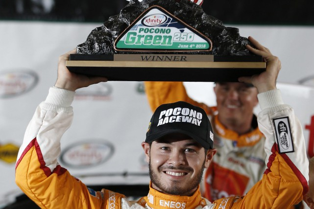 Kyle Larson... (Photo Matt Slocum, AP)