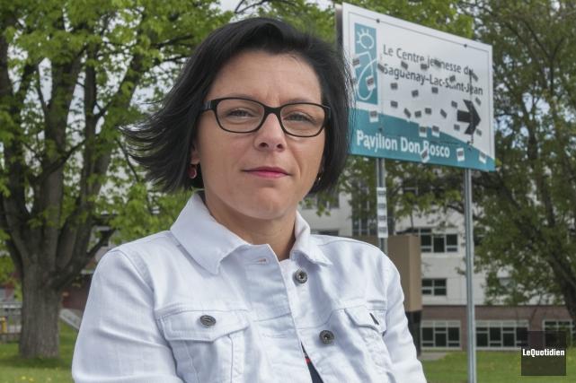 Nancy Poulin... (Archives Le Quotidien, Michel Tremblay)