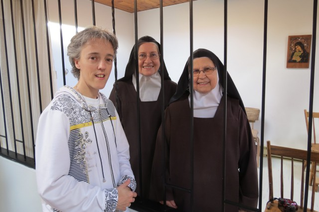 Les soeurs Carmélites de Dolbeau-Mistassini ont donné 5000... (Photo courtoisie)
