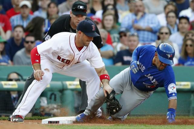 David Ortiz a ajouté deux autres points produits à son départ canon, Mookie... (Photo USA Today Sports)