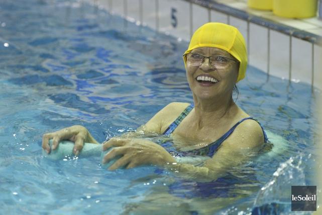À 65 ans, Hélène a décidé de vaincre... (Le Soleil, Jean-Marie Villeneuve)