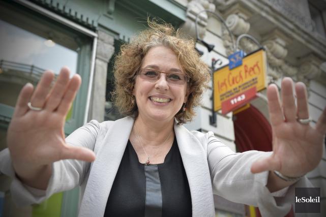 Louise Allaire, qui vient de quitter la direction... (Le Soleil, Pascal Ratthé)