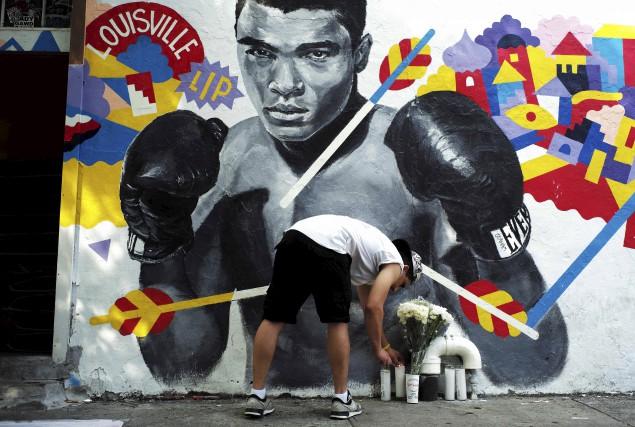 Muhammad Ali, le légendaire boxeur et ancien champion des poids lourds décédé... (Agence France-Presse)