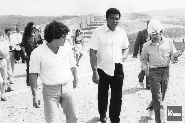 Avant de se rendre en Abitibi, Muhammad Ali... (Archives La Presse)