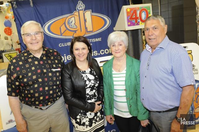 Le Club d'athlétisme Jeannois d'Alma a célébré ses... (Le Progrès-Dimanche, Gimmy Desbiens)