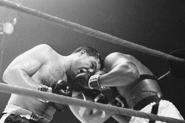 George Chuvalo contre Muhammad Ali le 29 mars... (Associated Press)