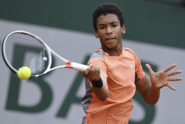 Félix Auger-Aliassime... (PHOTO MIGUEL MEDINA, AGENCE FRANCE-PRESSE)