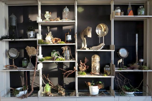 Vue d'une partie de l'installation de Giorgia Volpe... (Giorgia Volpe)