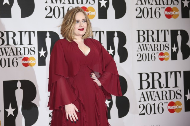 La chanteuse britannique Adele... (AP, Joel Ryan/Invision)