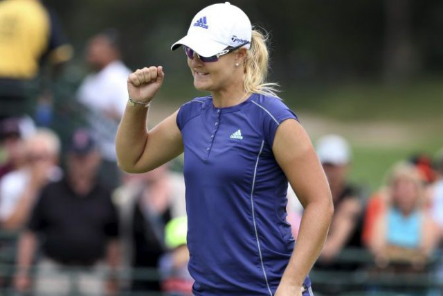 Anna Nordqvist... (Photo Mel Evans, Associated Press)