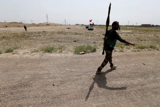 Les forces irakiennes ont lancé il y a... (PHOTO REUTERS)