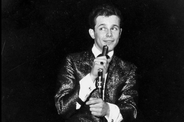 Bobby Curtola en 1964... (Archives La Presse Canadienne)