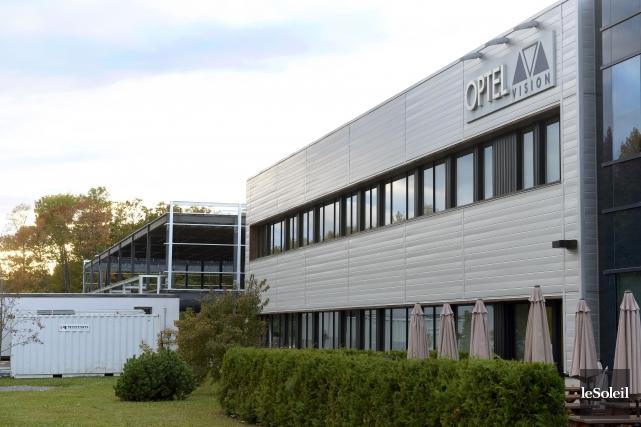 Optel Vision et les autres entreprises d'optique-photonique de... (Photothèque Le Soleil, Jean-Marie Villeneuve)