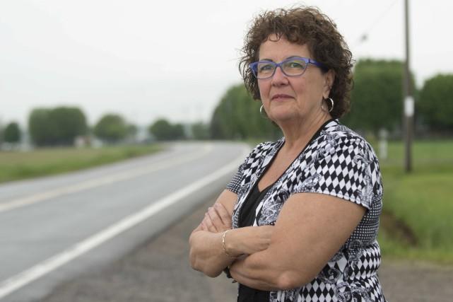 La conseillère Andrée Perron.... (Sylvain Mayer)