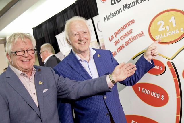 Jean-Guy Doucet, président du conseil d'administration de Moisson... (Andréanne Lemire)