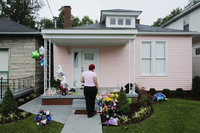 La maison natale de Muhammad Ali à Louisville... (Photo David Goldman, AP)