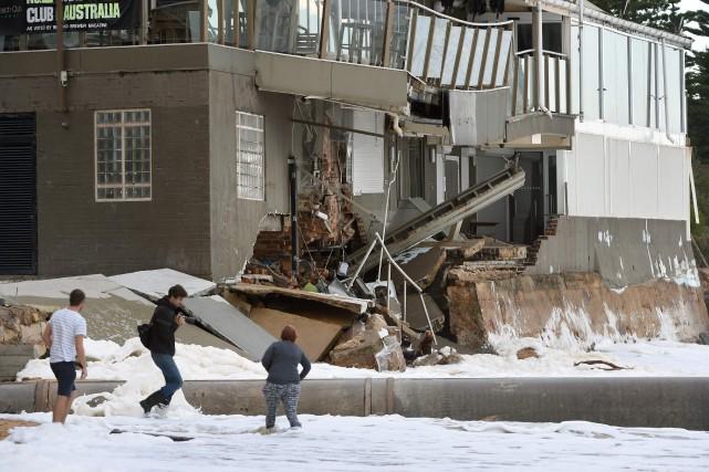 Le mauvais temps qui a sévi pendant tout... (Photo AFP)