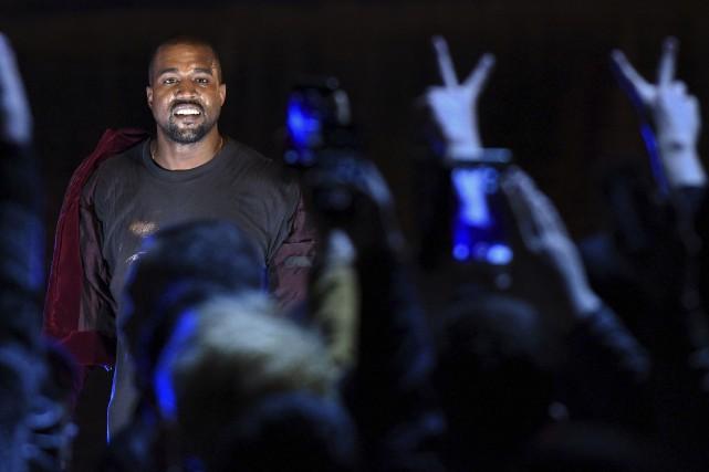 Kanye West... (AFP, Karen Minasyan)