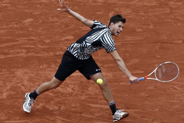 Dominic Thiem... (PHOTO CHRISTOPHE ENA, AP)