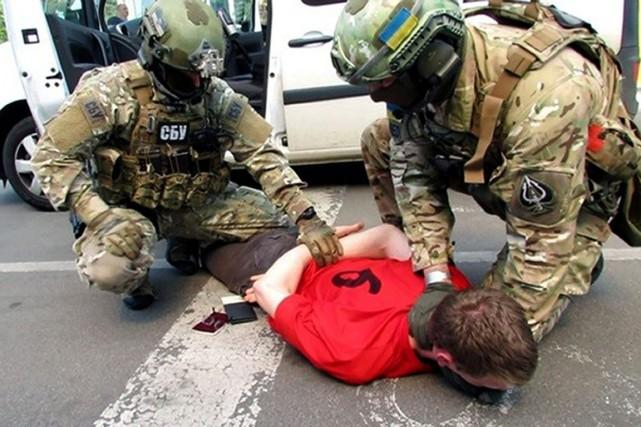 Sur cette image fournie par les services secrets... (IMAGE SBU/AP)