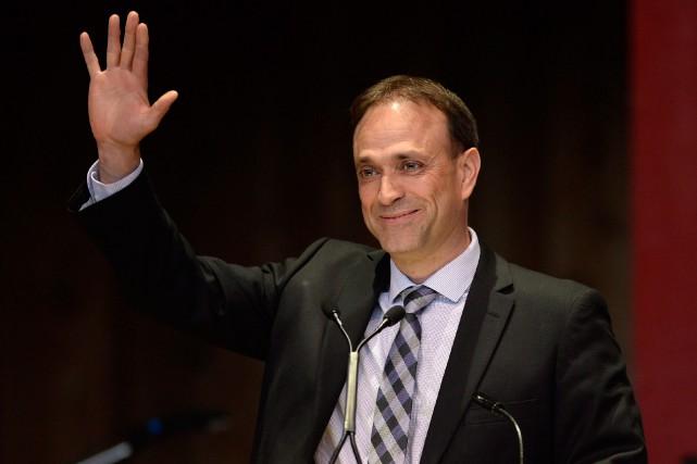 Sur la colline parlementaire depuis 22ans, Joël-Denis Bellavance... (photo justin tang, la presse canadienne)