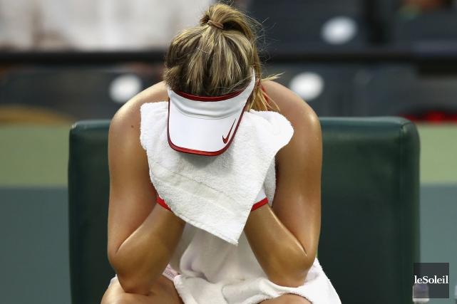 Eugenie Bouchard... (Photothèque Le Soleil, AFP)