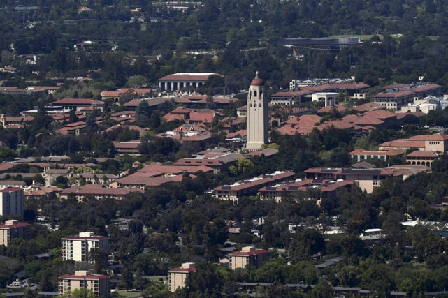 Le campus de l'université Stanford, en Californie.... (PHOTO REUTERS)
