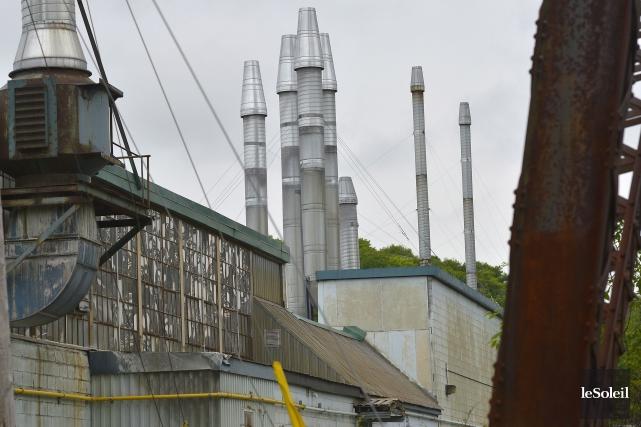 L'usine d'Anacolor, à Cap-Rouge... (Le Soleil, Yan Doublet)