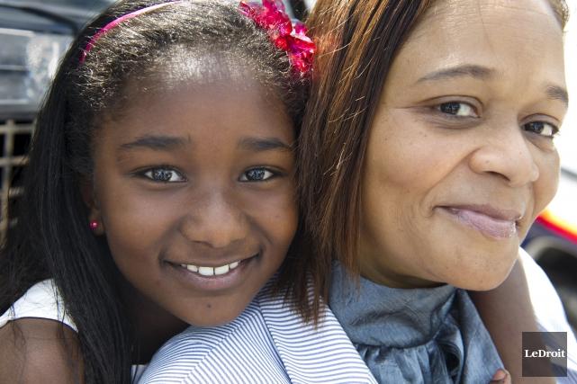 Rachelle Lafontant a sauvé la vie de sa... (Martin Roy, LeDroit)
