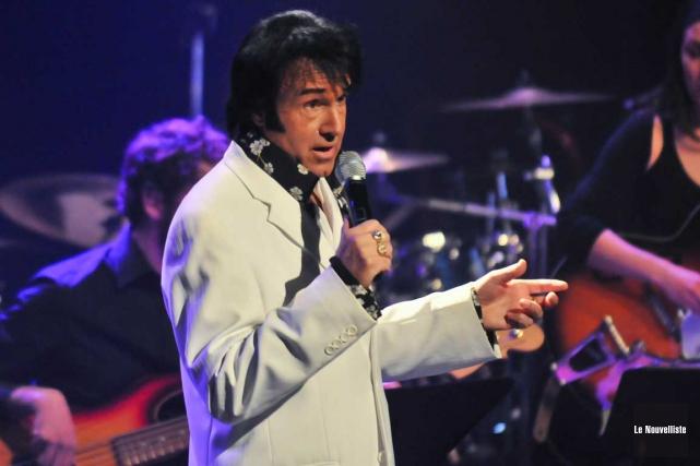 Elvis Lajoie présentera son dixième et dernier spectacle... (Archives, Le Nouvelliste)