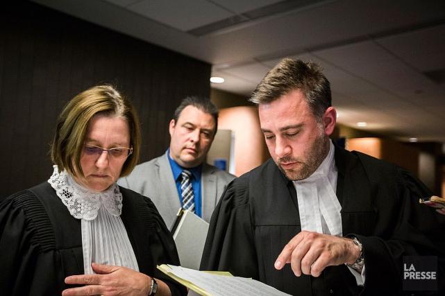 Des avocats qui ont travaillé sur le procès... (Olivier Pontbriand, Archives La Presse)