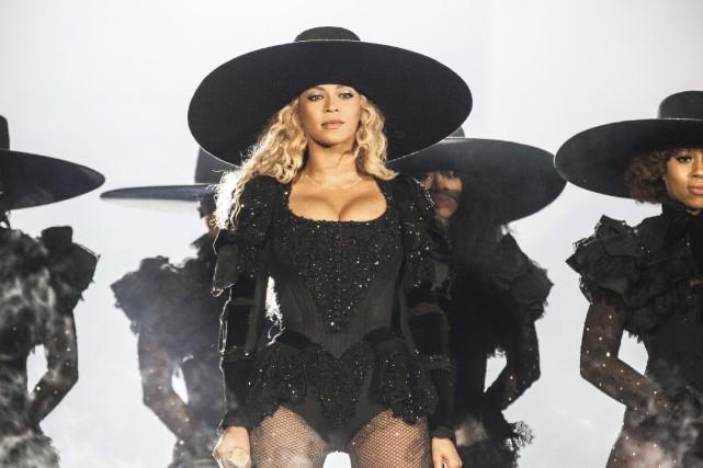 Beyoncé en concert dimanche à Philadelphie... (AP, Daniela Vesco)