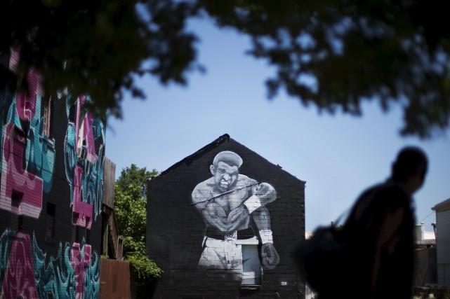 Ali, décédé vendredi à l'âge de 74 ans,... (David Goldman, AP)