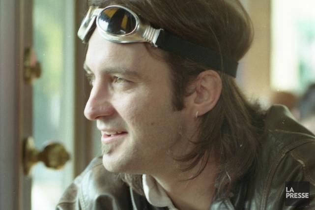 Le chanteur Dédé Fortin en 1998, deux ans... (Photo Martin Chamberland, archives la presse)