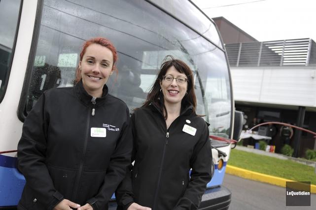 Julie Gagnon, conseillère en sécurite routière à la... (Photo Le Quotidien, Mariane L. St-Gelais)