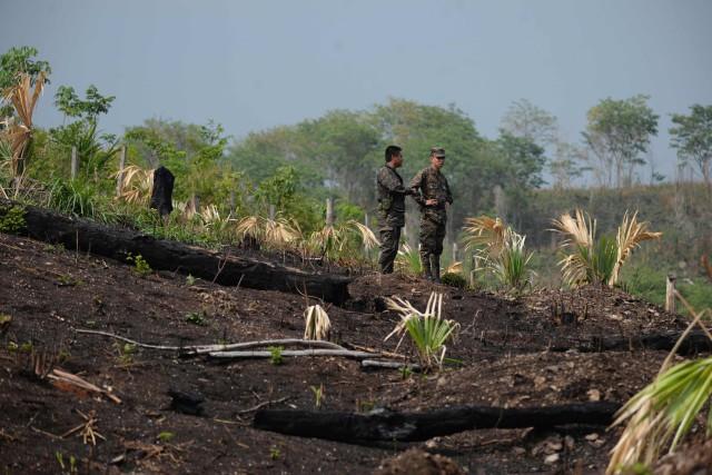 «Il y a la présence du narcotrafic qui,... (Photo AFP)