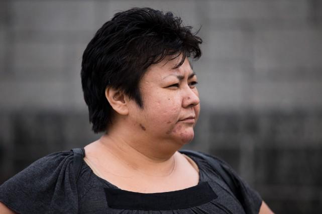 Chantal Wabanonik dit s'être rendue plusieurs fois avec... (photo olivier jean, la presse)