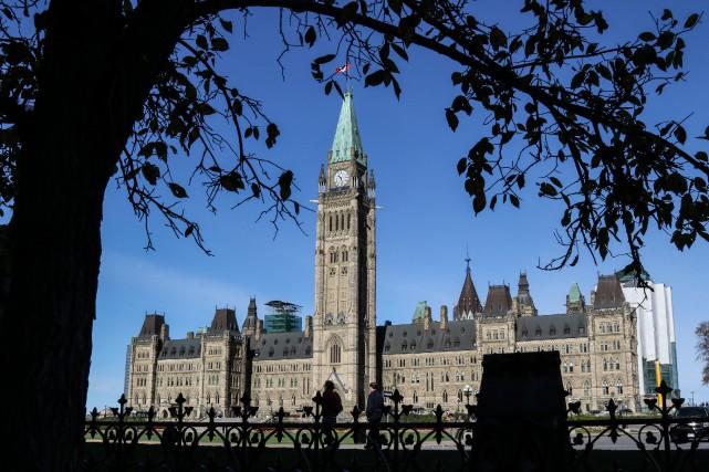 Selon notre chroniqueur,Ottawa, sous les libéraux puis sous... (Photo PATRICK WOODBURY, archives Le Droit)