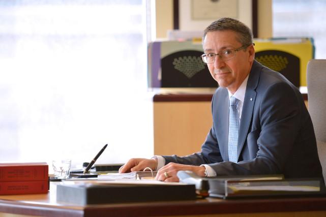 Jean Paul Dutrisac est président de l'Office des... (Photo Yan Doublet, Le Soleil)