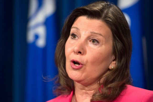 La députée Diane Lamarre, porte-parole en matière de... (Photo Jacques Boissinot, archives PC)