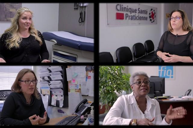 Un documentaire sur l'utilité des cliniques opérées par des infirmières... (IMAGE TIRÉE DU DOCUMENTAIRE)