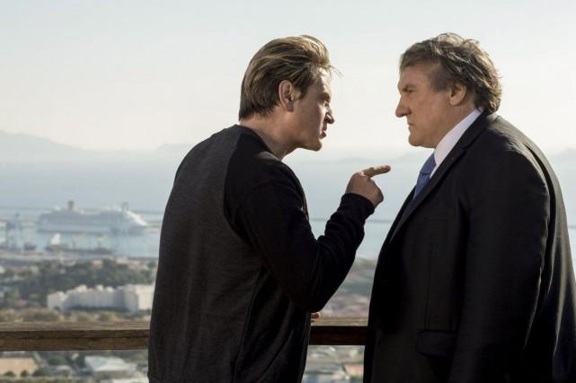 Benoît Magimel etGérard Depardieu dans la première saison... (Photo fournie par Netflix)