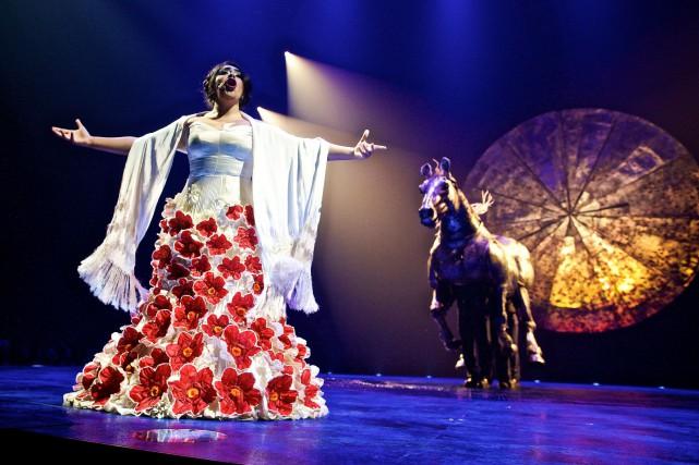 Luzia est actuellement à l'affiche dans le Vieux-Port... (PhotoAndré Pichette, La Presse)