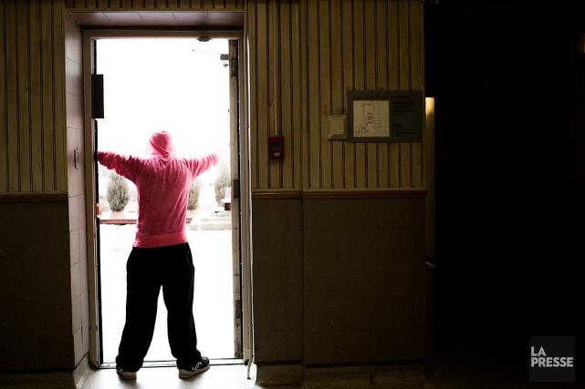 La situation dans les centres jeunesse est loin... (PHOTO MARTIN TREMBLY, LA PRESSE)